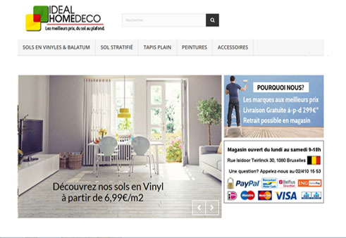 site web e commerce